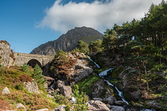Ogwen Falls (russellcram) Tags: nikon d750 north wales ogwen falls tryfan waterfall cloud trees water rocks