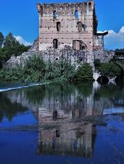 Sottosopra! Borghetto sul Mincio (ornella sartore) Tags: borgo antico riflesso natura colori allaperto particolari