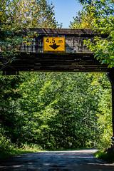 2018 - photo 257 of 365 - rail crossing near Hantsport, Nova Scotia (old_hippy1948) Tags: