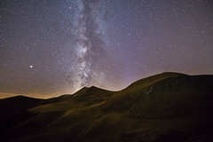 Stars over the Sancy mountains (Tekila63) Tags: milkyway stars night sancy auvergne nightscape
