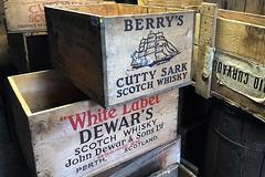 Scotch Cases (AntyDiluvian) Tags: boston massachusetts northshore essex capeann antiques antiqueshop howardsflyingdragonantiques flyingdragon case scotch whiskey dewars cuttysark