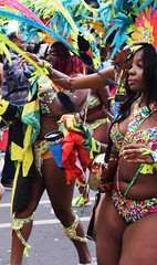 DSC_8319a (photographer695) Tags: notting hill caribbean carnival london exotic colourful costume girls dancing showgirl performers aug 27 2018 stunning ladies