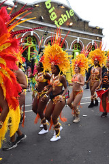 DSC_8307 (photographer695) Tags: notting hill caribbean carnival london exotic colourful costume girls dancing showgirl performers aug 27 2018 stunning ladies