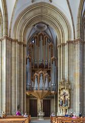 St-Lamberti-mit Orgel (ulrichcziollek) Tags: nordrheinwestfalen münsterland münster stlamberti kirche kirchenschiff orgel gotik gotisch