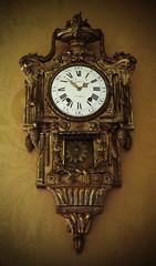 Cronier Clock - Paris (big_jeff_leo) Tags: statelyhome yorkshire england palace ornate expensive