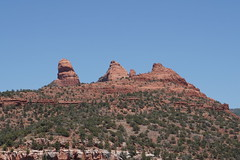 Sedona, Arizona (mattk1979) Tags: unitedstatesofamerica usa sun outdoors sky tourist attraction sedona arizona country red rocks mountains cliffs