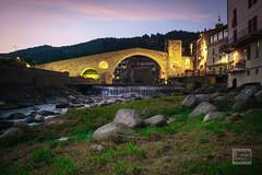 Pont Nou, Camprodon (Joan Romero) Tags: camprodon ter horablava pont riu romanic vacances catalunyaromanica longexpo
