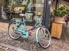 Fahrrad mit zu vielen Klingeln (karlheinz klingbeil) Tags: fahrrad bike bicycle klingel bells freiburg