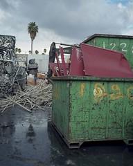 Scrap in the rain (ADMurr) Tags: la eastside scrap rain mamiya 7 kodak 80mm lens mf 6x7 daa113
