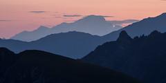 Layers (Michel Couprie) Tags: europe france alpes alps galibier montblanc layers dawn profile crest crête canon ef3004lis eos couprie aube leverdesoleil panorama
