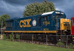 Latest Museum Piece (Joseph Bishop) Tags: mcvx 7764 ge u36b csx csxt trains train track tracks railfan r railroad railway rail rails northeast pennsylvania