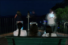 (Neil Young Was Right) (Robbie McIntosh) Tags: leicam9p leica m9p rangefinder streetphotography 35mm leicam autaut candid strangers seaside man women girls capri leicasummilux35mmf14i summilux summilux35mmf14i night bokeh nightphotography motionblur longexposure landscape surreal