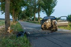 20180817-2003 (Sander Smit / Smit Fotografie) Tags: damsterweg steendam ongeluk boom botsing
