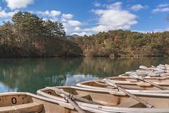DSC_0178 (juor2) Tags: d750 nikon scene travel japan fukushima aizuwakamatsu lake pond maple autumn scenery volcano colorful