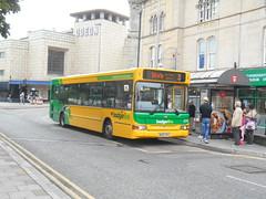 First West of England 42910 (Welsh Bus 18) Tags: first westofengland badgerline dennis dart slf pointer 2 42910 wx05rvu westonsupermare
