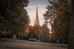 Christ Church Clifton, Bristol, UK (KSAG Photography) Tags: church spire sunset bristol uk unitedkingdom england europe britain city urban architecture religion nikon august 2018 summer history heritage