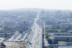 Wildfire Smoke over Vancouver BC (PhotoDG) Tags: haze smoke smoky wildfire fire airairquality weather vancouver metrovancouver lowermainland canada britishcolumbia airqualityadvisories ef70200mmf4lisusm cityscape city environment climate 山火 烟雾 污染 pm25