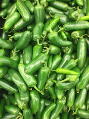Green Jalapeno Peppers (joncutrer) Tags: grocerystore vegetables food edible groceries produce royaltyfree cc0 jalepenos peppers hot spicy green cooking ingredients