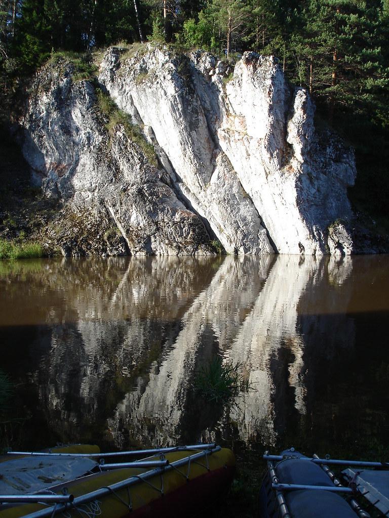 фото: Скала Сафронинский камень и катамараны