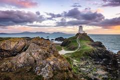 Island Of Blessed Sunset (MDJL Landscapes) Tags: tyrmawr lighthouse llanddwynisland anglesey northwales cymru mountain coast nikon landscape