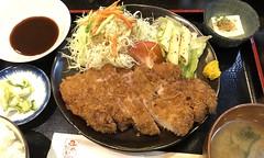 IMG_3247.JPG (kabamaru.k) Tags: edited tokyo meal meat washoku cutlet