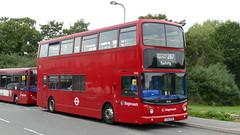 Barking Mad For Tridents (londonbusexplorer) Tags: stagecoach london dennis trident alexander alx400 18466 lx55epu 287 rainham abbey wood lane barking tfl buses