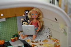 Lori Doll custom Camper (whim_sy) Tags: lori doll glamper camper custom mini barbie chelsea
