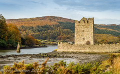 Narrow Water Keep. (Tony Brierton) Tags: 301017 castle codown coast narrowwater newcastle northernireland unitedkingdom
