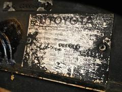 1984 Gasoline Toyota Land Cruiser 4.2Litre inline 6 cylinders (mangopulp2008) Tags: 1984 gasoline toyota land cruiser 42litre inline 6 cylinders
