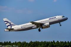 Aegean Airlines SX-DGB (TO) (U. Heinze) Tags: aircraft airlines airways airplane haj hannoverlangenhagenairporthaj eddv flugzeug planespotting plane nikon