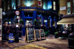 Shepherd Market (Jim Nix / Nomadic Pursuits) Tags: 1635mmf4 aurorahdr2018 england hdr london luminar2018 macphun shepherdmarket skylum sony sonya7ii uk unitedkingdom bar evening highdynamicrange nightlife pub travel wideangle