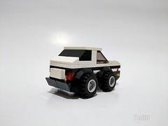 Lego moc - Mini Initial D Toyota AE86 (c_s417) Tags: lego bricks initial d toyota ae86 mini choro q japanese 頭文字d comics car vehicle