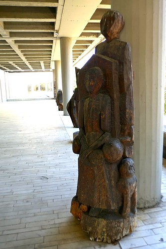 Wood art, Museum of Contemporary Art, Skopje