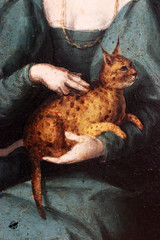Francesco Ubertini - Portrait of a Woman with Panther cat (detail) (The Crow2) Tags: thecrow2 canon eos 600d art művészet festmény painting gemäldegalerie berlin deutschland németország 2018