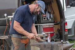 working hard (Mark Rigler -) Tags: black smith man work metal
