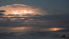 Internal Combustion (gseloff) Tags: clouds lightning weather sky gypsum sanddune desert rain nature landscape whitesandsnationalmonument newmexico gseloff