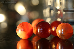 the game is on (photos4dreams) Tags: glasmurmelsammler murmel marble klicker photos4dreams photos4dreamz p4d glasmurmel fingertips finger themarblecollector ceciliaahern book read buch gelesen orange bloodies rot red marbles macromondays macro macrolens glass glas hmm