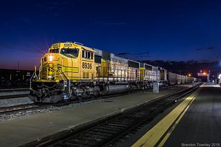 BNSF in La Junta, CO
