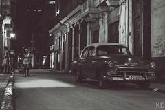 Havana, Cuba (Konstantinos Dolkas) Tags: ifttt 500px havana habana cuba car classic bnw black white street city life dark night nikon