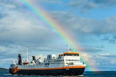 Westfjords ferry (webeagle12) Tags: nikon d7200 europe nature mountain earth planet west iceland clouds westfjords rainbow ferry baldur brjánslækur snæfellsnes