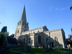 St Mary's Church, Edwinstowe (Dugswell2) Tags: intersectedstation edwinstowechurchspire stmaryschurch edwinstowe