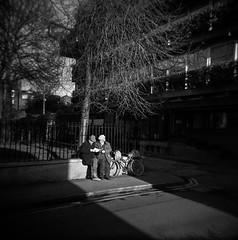 Hanbury lane Dublin (monosnaps) Tags: monosnaps eddie mallin film holga hp5 ireland dublin hanbury land thomas court libertied dublin8 city conversation private