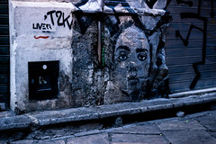 Her Face (faster3ck) Tags: palermo sicily italy street streetlife streetphotography travel traveling visiting muralism streetart streetartsicily art urbanpainting graffiti sprayart eyes esoteric vibes woman urbanexploration populartags explorer