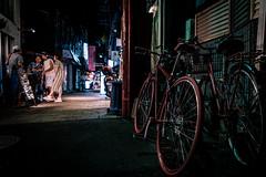 神戸元町南京町界隈 2018 #7ーNankinmachi, Motomachi, Kobe city, neighborhood 2018 #7 (kurumaebi) Tags: kobe 神戸市 神戸 元町 南京町 motomachi 路地 street alley 街 night 夜 fujifilm 富士フイルム xt20