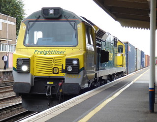70003 at eastleigh