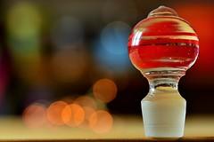 Balls (jessandgrace) Tags: colorimage colors bokeh lights glass stopper macro