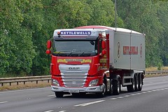 Y60 KET (Martin's Online Photography) Tags: daf xf truck wagon lorry vehicle freight haulage commercial transport a63 eastyorkshire nikon nikond7200 tipper