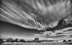 Out of the Blue (Keith Midson) Tags: cloud clouds sky tasmania rural farm farming australia