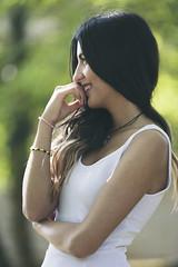 Beatriz 7.0. // 01 (Lt. Sweeney) Tags: retrato portraiture portrait ritratto look sguardo mirada sonrisa smile gesto actitud attitude belleza belle bella shooting outfit whitedress inwhite timidez tímida guapa cool cute pretty joli beau beautiful gorgeous desenfoque blur dof depthoffield profundidaddecampo planomedio vertical encuadrevertical frame framing foto fotografía sesiónfotográfica juventud joven teenager youth young canon adobephotoshopcc iluminaciónnatural noflash sinflash encolor color gente airelibre exterior model modelo modella
