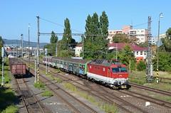 Podradný výkon (Nexak) Tags: train slovakia os zssk železničná spoločnosť 350 es4990 škoda bratislava